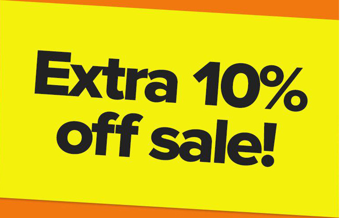 10% off On Everything With Code SIZE10 At Checkout