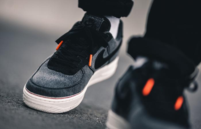 3x1 Nike Air Force 1 Premium Black 905345-006