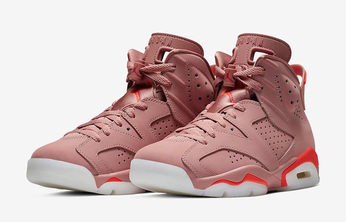 Aleali May Air Jordan 6 Rose Pink CI0550-600 02
