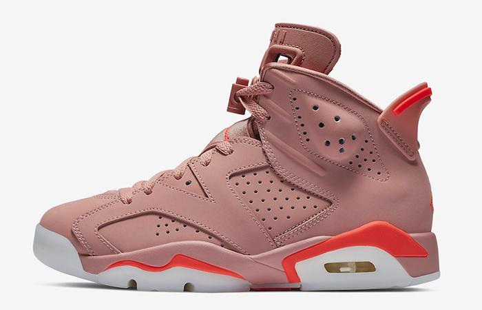 Aleali May Air Jordan 6 Rose Pink CI0550-600