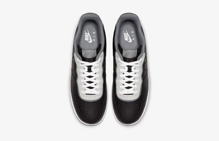 buy online 38ad0 6c6c3 ... Nike Air Force 1 07 LV8 1 Black White AO2439-002 03 ...