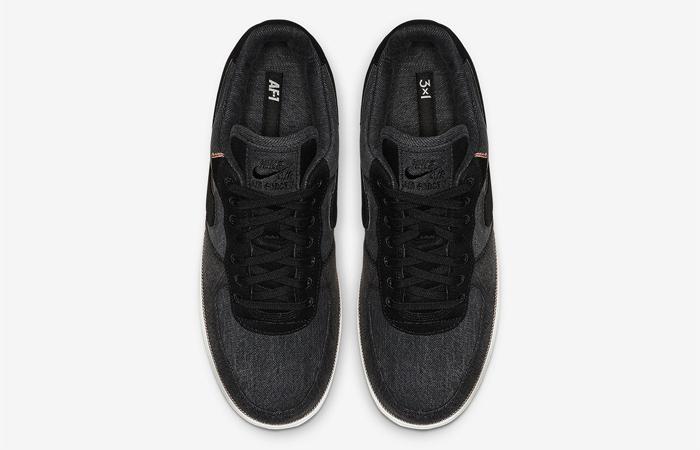 Nike Air Force 1 Premium DeniBlack 905345-006