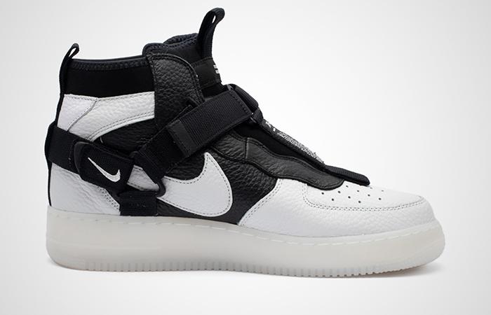 Nike Air Force 1 Utility Mid Black White AQ9758-100 03