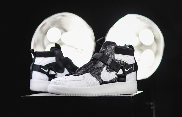 Nike Air Force 1 Utility Mid White AQ9758-100