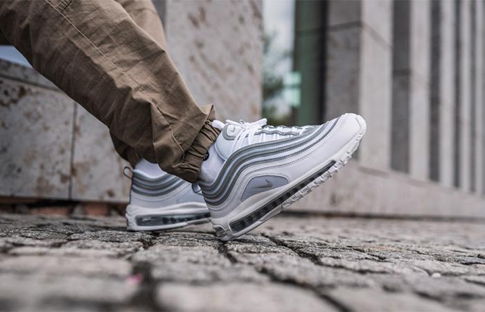Nike Air Max 97 White Wolf Grey Reflect Silver 921826 105
