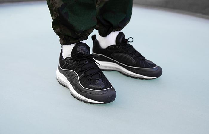 super popular d1634 8d8a8 Nike Air Max 98 University Black 640744-009