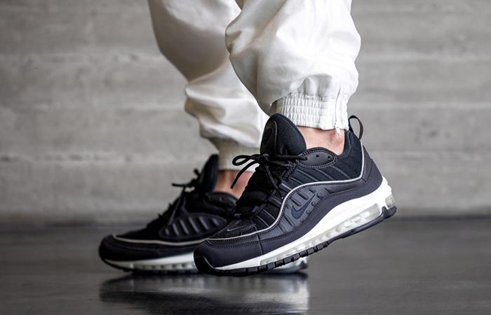 Nike Air Max 98 University Black 640744 009 Fastsole