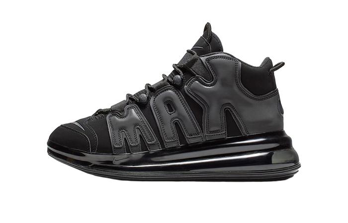 Nike Air More Uptempo 720 Triple Black BQ7668-001 01