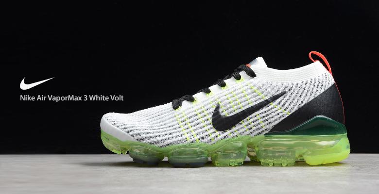 Nike Air VaporMax 3 White Volt AJ6900-100