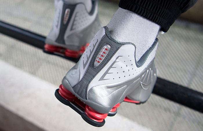 Nike Shox R4 Metalic Silver BV1111-100