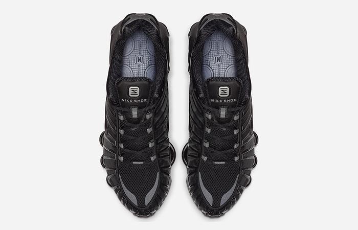 Nike Shox Total Black BV1127-001 03