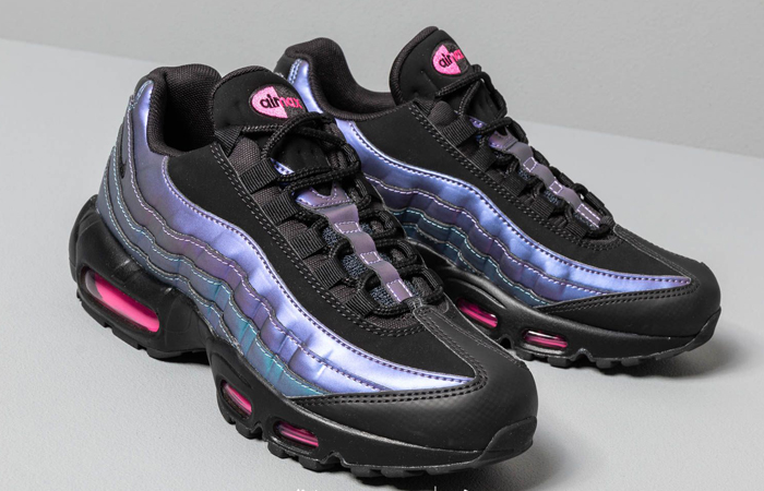 new product 1d3fd 96ff3 Nike Womens Air Max 95 RF Laser Fuchsia