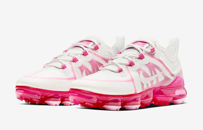 Nike Womens Vapormax 19 Pink Rise AR6632-105 02