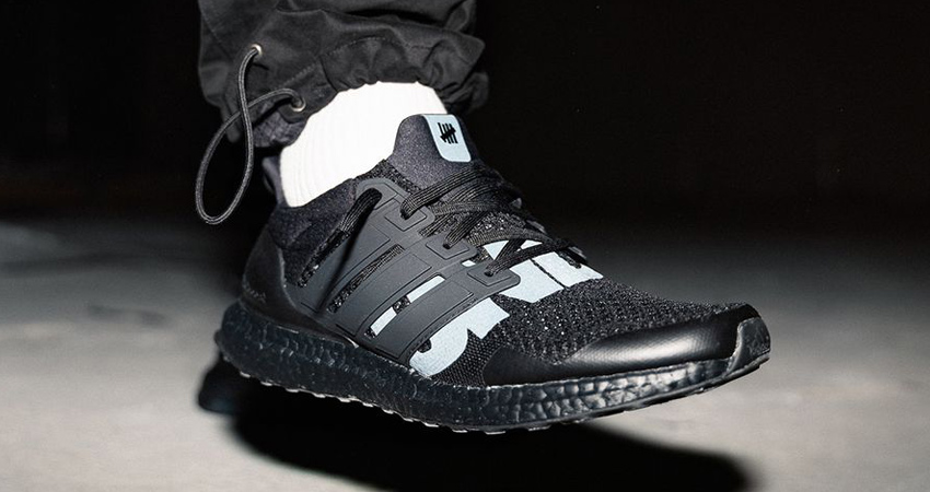 On Foot Look At The UNDEFEATED adidas Ultra Boost 1.0 Triple Black 03