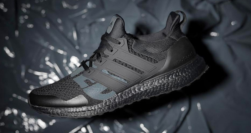 On Foot Look At The UNDEFEATED adidas Ultra Boost 1.0 Triple Black 04