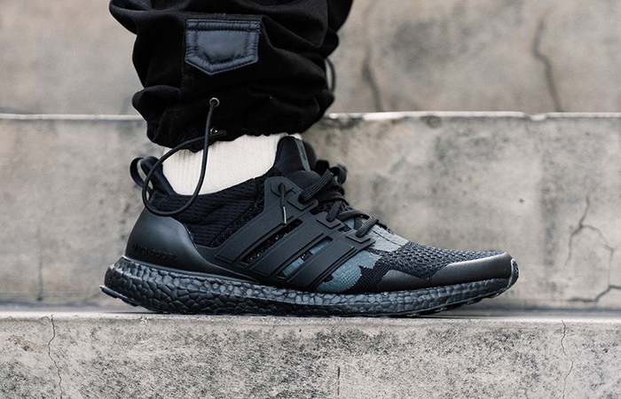 On Foot Look At The UNDEFEATED adidas Ultra Boost 1.0 Triple Black ft