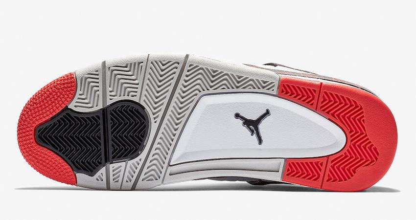 On Foot Look of Nike Air Jordan 4 Hot Laa