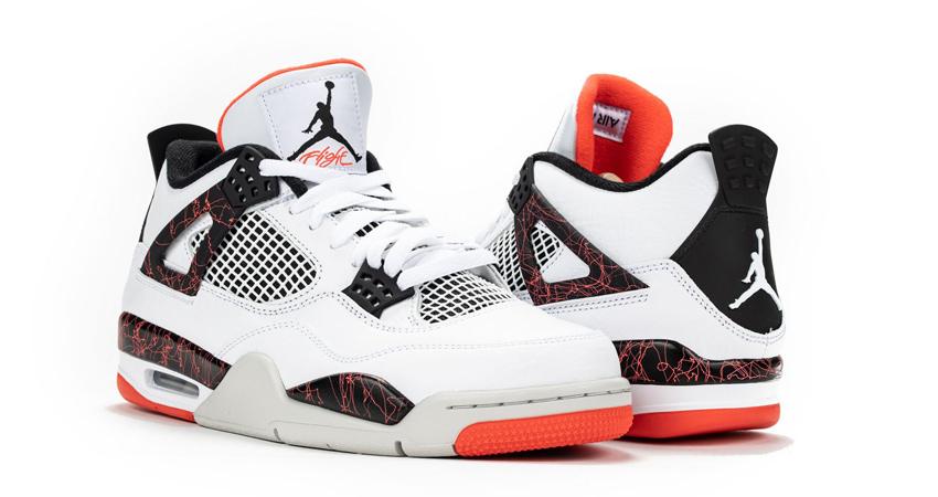 On Foot Look of Nike Air Jordan 4 Hot Lava 03