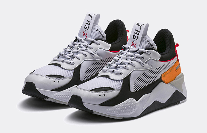 Puma RS X Tracks White Blac 369332-02