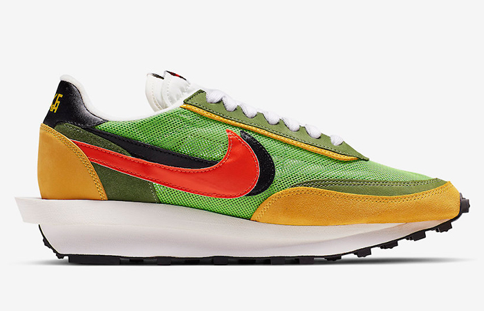 Sacai Nike LDV Waffl Daybreak Green BV0073-300