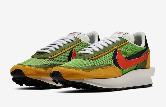 Sacai Nike LDV Waffle Daybrea Green BV0073-300
