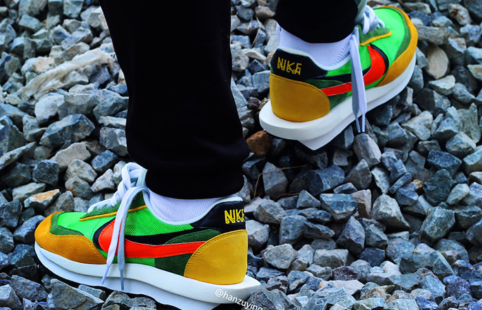 Sacai Nike LDV Waffle Daybreak Green BV0073-300 02