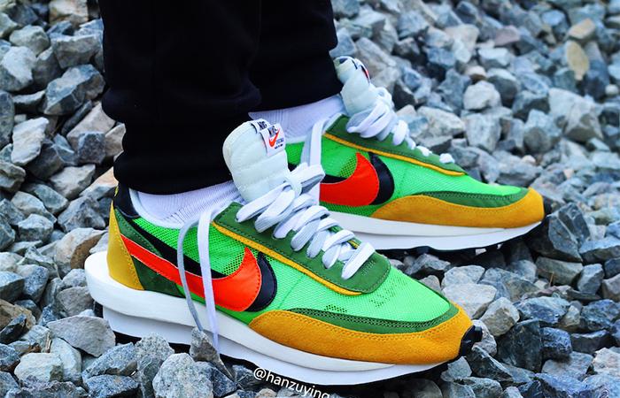 Sacai Nike LDV Waffle Daybreak Green BV0073-300 03