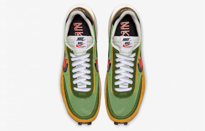 Sacai Nike LDV Waffle Daybreak Gren BV0073-300