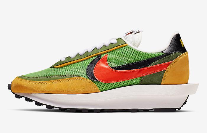 Sacai Nike LDV Waffle Dybreak Green BV0073-300