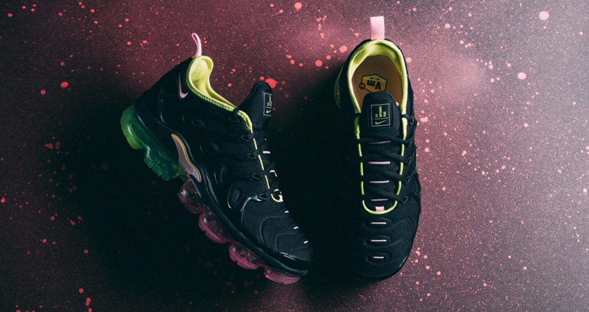 f1449ce3d63b1 Take A Look At The Nike Air Vapormax Plus Black Volt – Fastsole