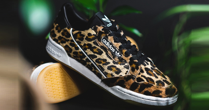 Take A Look At The Upcoming adidas Continental 80 Leopard 01