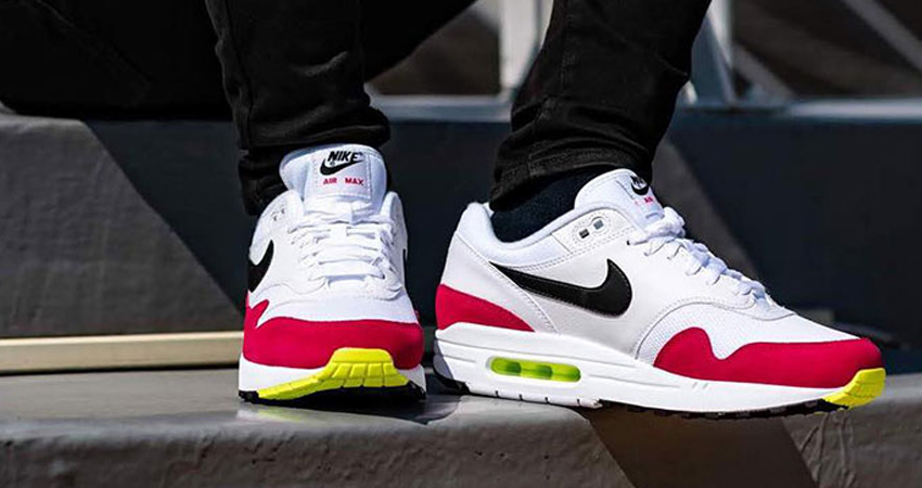 The Nike Air Max 1 'Rush Pink' Can Be The Best Match For Coming Season 01
