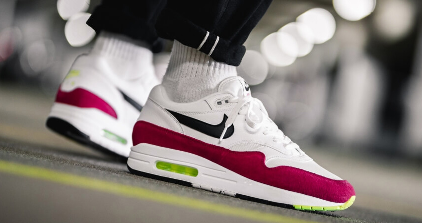 The Nike Air Max 1 'Rush Pink' Can Be The Best Match For Coming Season 02