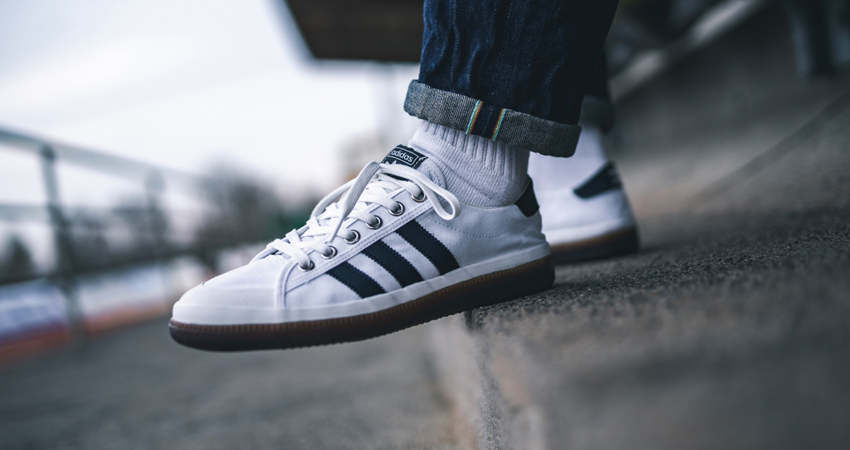 the latest f4260 81cd4 adidas Consortium Norfu SPZL White Navy F35719