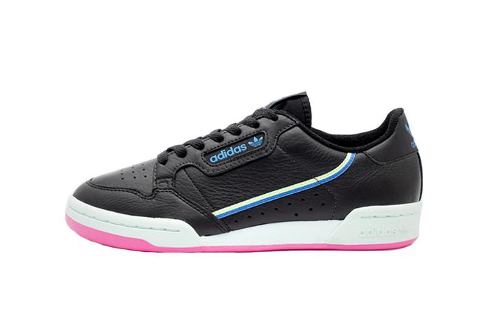 adidas Continental 80 W Black G27723 01