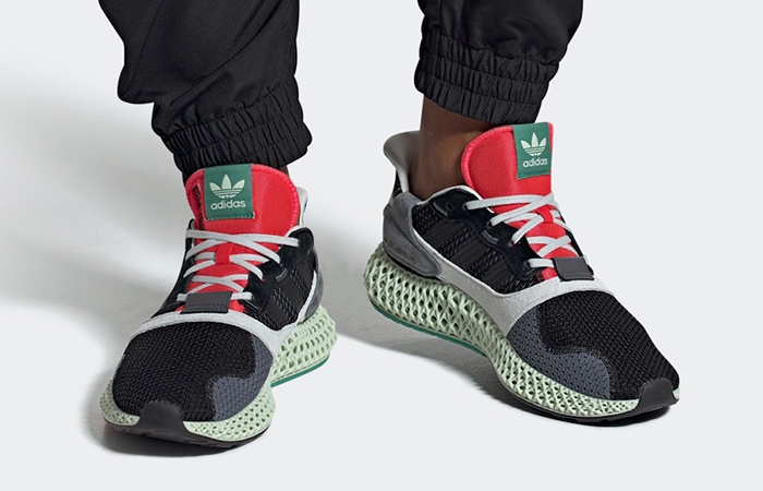adidas Originals ZX 4000 4D Black Onix BD7931