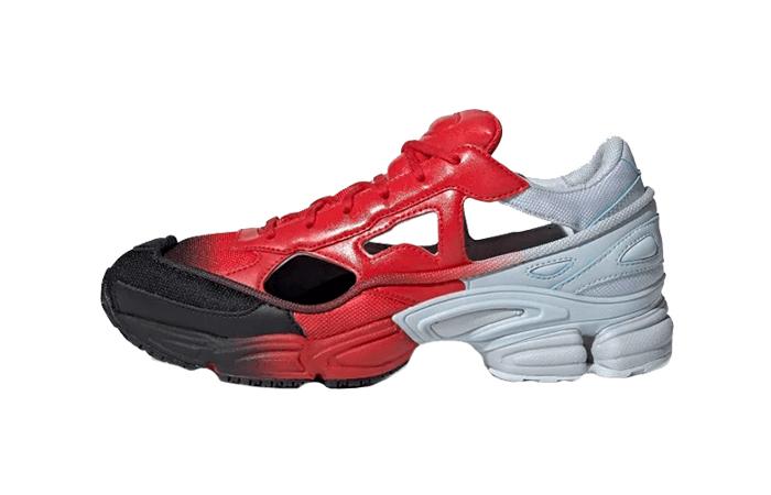 adidas Raf Simons Ozweego Black Red EE7933 01
