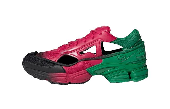 adidas Raf Simons Ozweego Green Pink EE7932 01