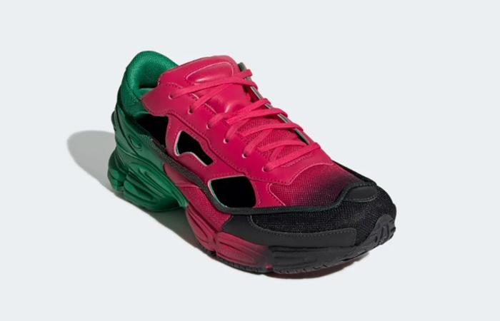 adidas Raf Simons Ozweego Green Pink EE7932 02