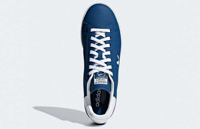 adidas Stan Smith Wte Navy G27998