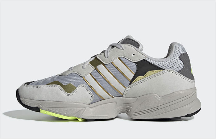 adidas Yung-96 Is Coming Soon In Grey And Gold Cpmbination ft