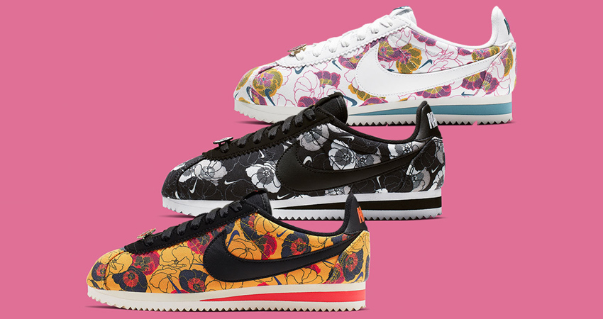 A Floral Pack Of Nike Cortez Specially For Women Are Hitting Store Soon 01