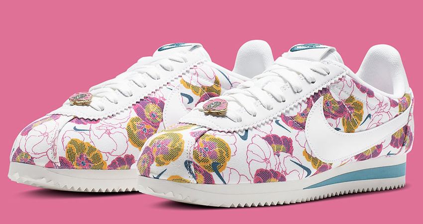 A Floral Pack Of Nike Cortez Specially For Women Are Hitting Store Soon 07