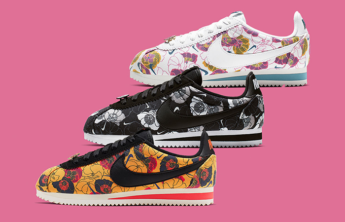 A Floral Pack Of Nike Cortez Specially For Women Are Hitting Store Soon ft