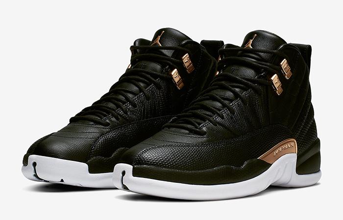 Air Jordan 12 Midnight Black AO6068-007 03
