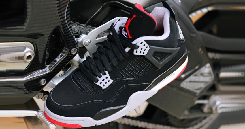 Air Jordan 4 Bred 2019 Is Coming Next Month 02