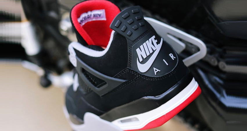 Air Jordan 4 Bred 2019 Is Coming Next Month 03