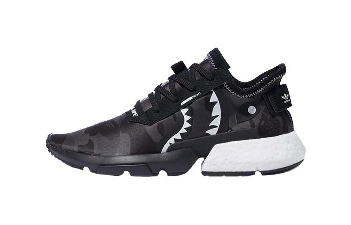 low priced 30c3e d6ed9 BAPE x NEIGHBORHOOD adidas P.O.D. S-3.1 Black EE9431