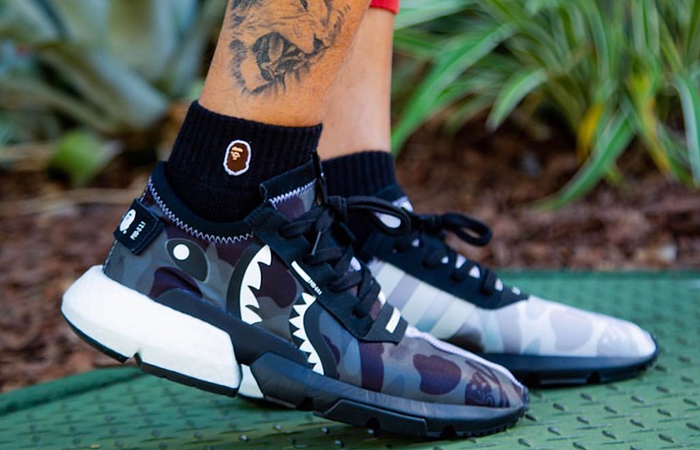 BAPE x NEIGHBORHOOD adidas P.O.D. S 3.1 Black EE9431