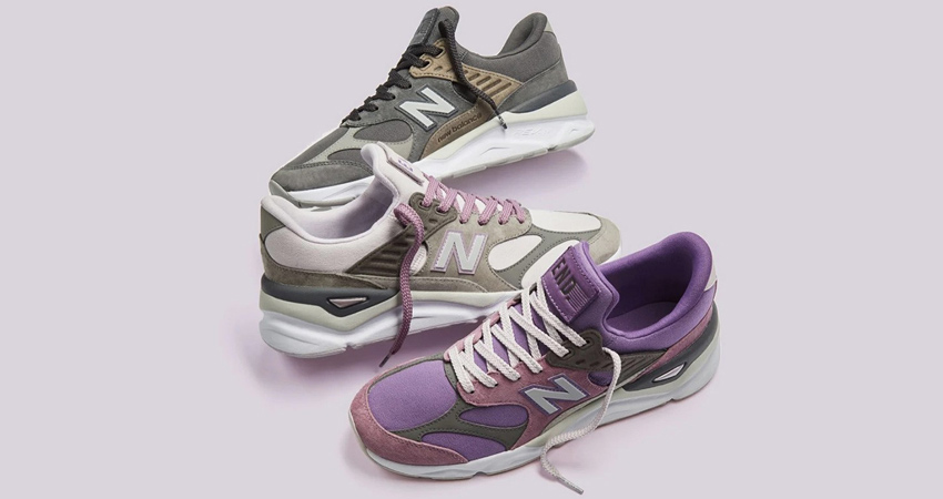END. And New Balance Collaborate Between Themselves By Inspirition Of X-90 Collection 01